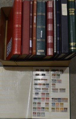 Lot 9 - World stamp stock albums