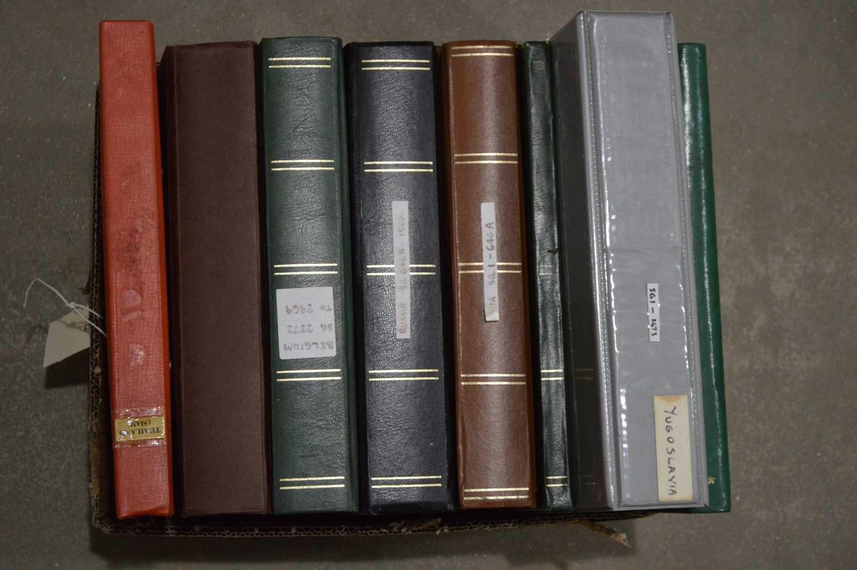 Lot 23 - Stamp stock books