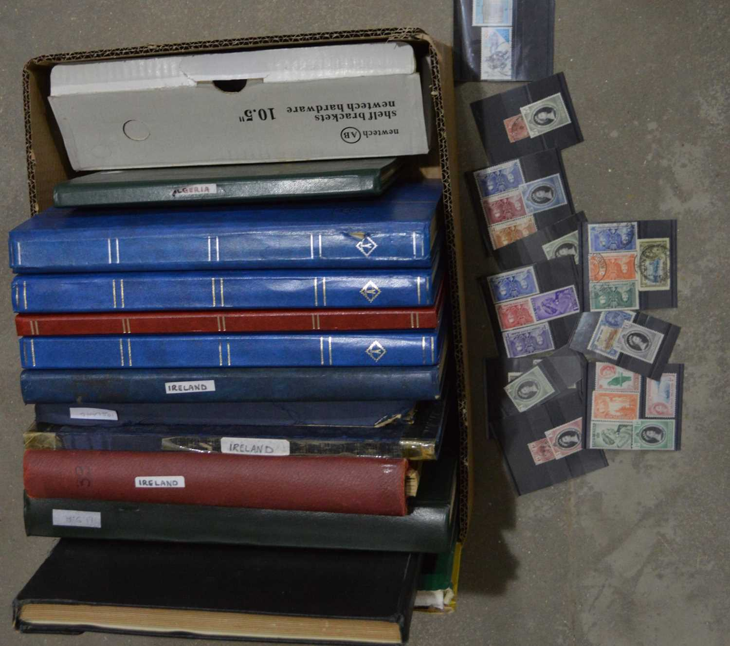 Lot 28 - World stamps, mostly in stock books