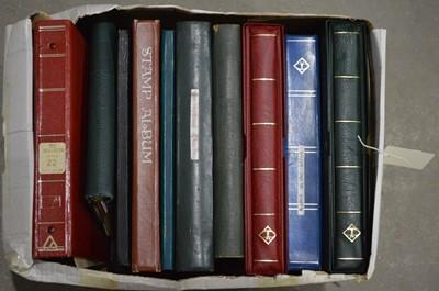 Lot 37 - Quantity of world stamp stock books