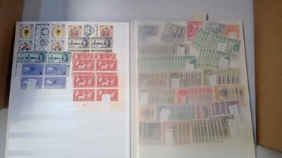 Lot 41 - World stamp stock books