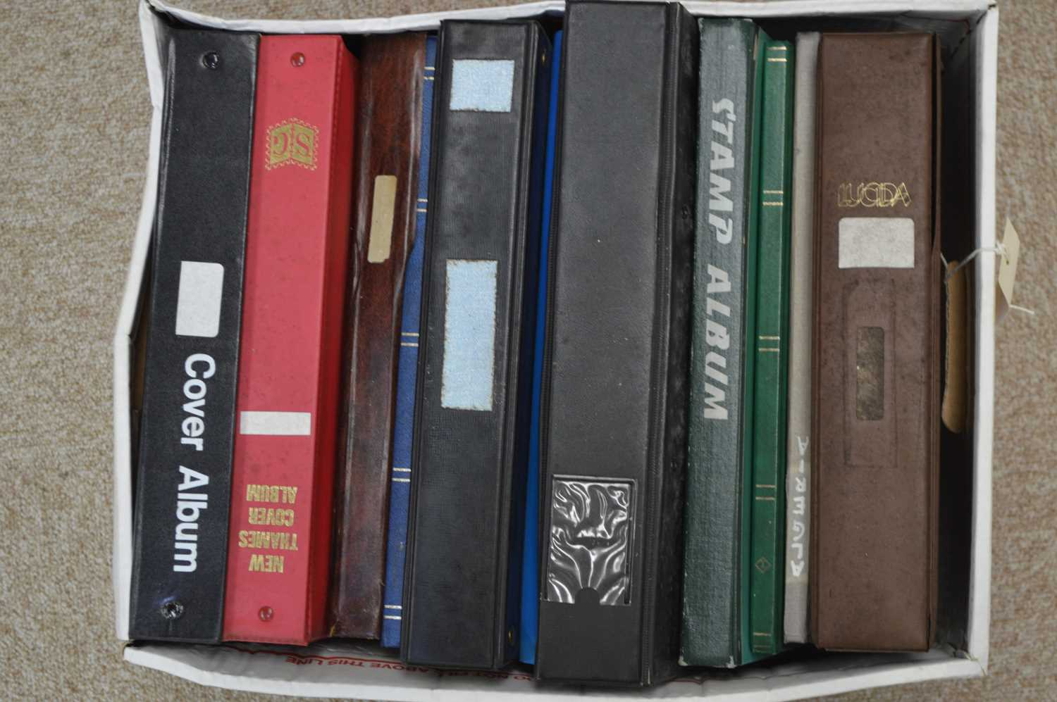 Lot 45 - A selection of World stamped stock books