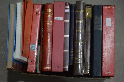 Lot 47 - British and Commonwealth stamps in stock books