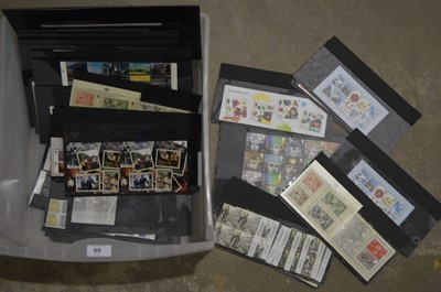 Lot 55 - A large quantity of Royal mail mint and used stamps