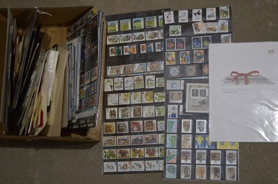 Lot 57 - A collection of Royal Mint postage stamps