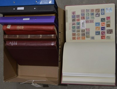 Lot 62 - World stamp stop books and albums