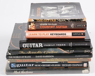 Lot 325 - 9 Guitar Reference books