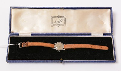 Lot 202 - A lady's stainless steel Rolex wristwatch.
