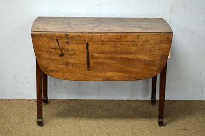 Lot 85 - A George III mahogany Pembroke table.