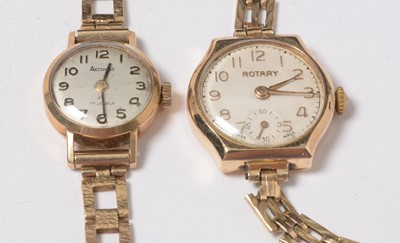 Lot 248 - A selection of vintage costume jewellery and watches.