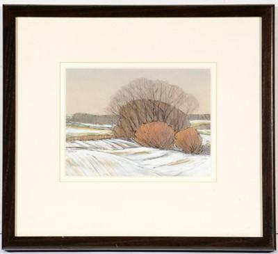Lot 734 - Paul Gallagher - watercolour.