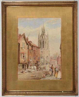 Lot 684 - Platt - watercolour.
