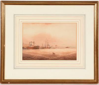 Lot 688 - Norman Septimus Boyce - watercolour.