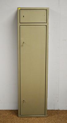 Lot 9 - 20th century aluminium gun cabinet
