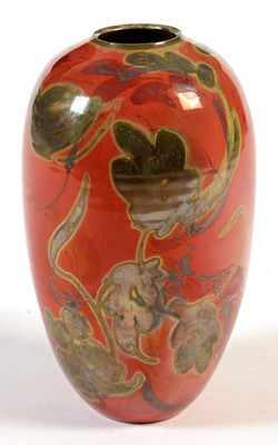 Lot 4 - Ovoid lustre vase