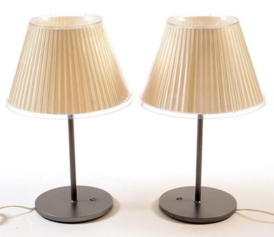 Lot 40 - Matteo Thun for Artemide: a pair of 'Choose' table lamps.