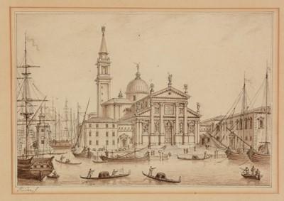 Lot 657 - Italian School - watercolour.