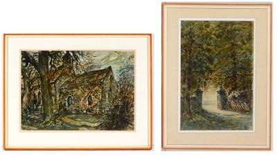 Lot 711 - Albert Henry Herbert - watercolour.