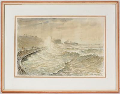 Lot 712 - Albert Henry Herbert - watercolour.