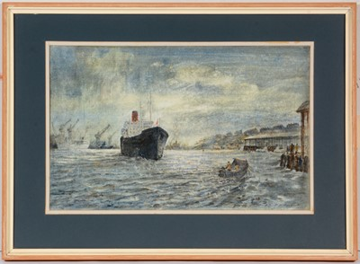 Lot 708 - Albert Henry Herbert - watercolour.