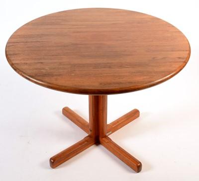 Lot 71 - Tarm Stole-OG Møbelfabrik A/S: a teak circular breakfast table.