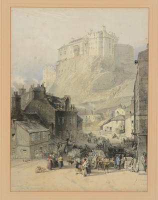 Lot 616 - After David Robert and William Leitch - Lithographs