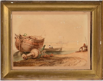 Lot 730 - 19th Century, British School - watercolour.