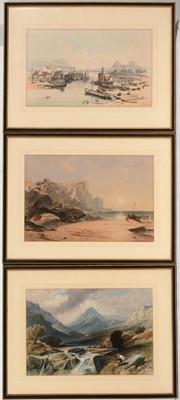 Lot 613 - British School, 19th Century - lithographs