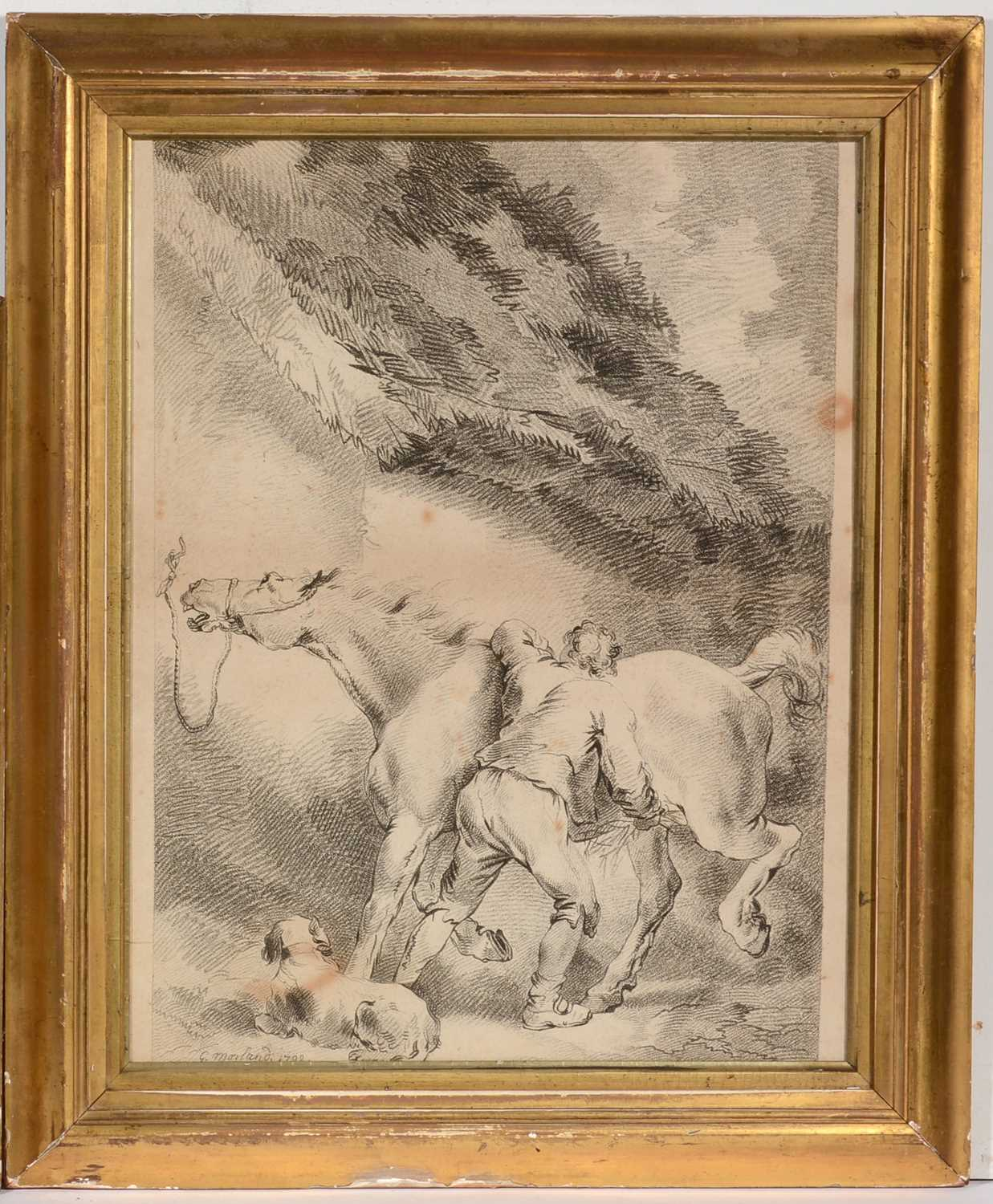 Lot 633 - After George Morland - lithograph.