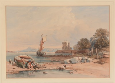 Lot 614 - After David Roberts,  After William Clarkson Stansfield and two others