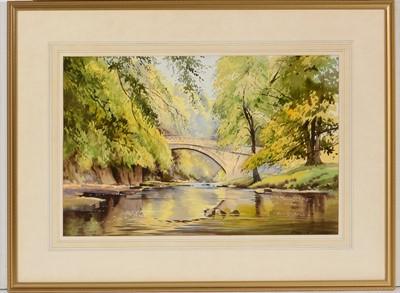 Lot 683 - Alan B Charlton - watercolour.