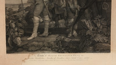 Lot 604 - After Anthony van Dyke - engraving with etching