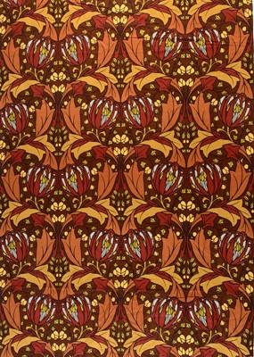 Lot 26 - A mid 20th C roll of Edinburgh Weavers fabric.