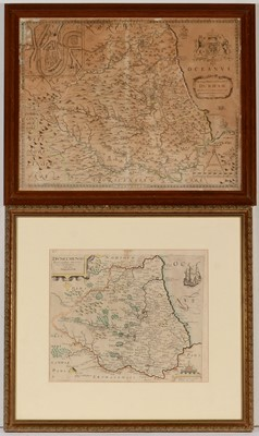 Lot 647 - Christopher Saxton - maps.