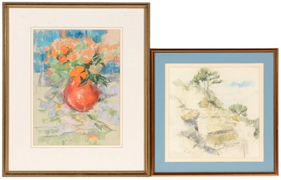 Lot 652 - Barry Norman - pastel.