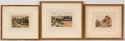 Lot 700 - Harry James Sticks - watercolours