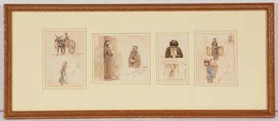 Lot 674 - British School, 19th Century - pen, ink and body colours.