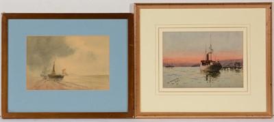 Lot 728 - 19th Century, British School - watercolours.