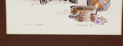 Lot 659 - John Hogarth - pen and ink