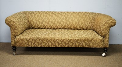 Lot 33 - A Victorian Chesterfield sofa.
