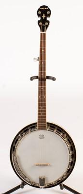 Lot 283 - Aria five string banjo