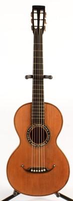Lot 304 - German  parlour guitar