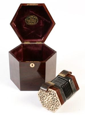 Lot 269 - Lachenal Mini concertina