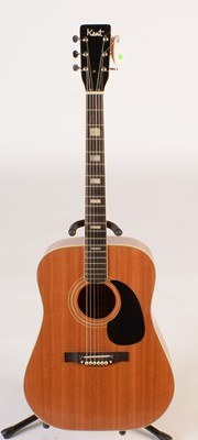 Lot 319 - Kent acoustic guitar