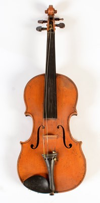 Lot 277 - French Violin labelled Paul Bailly