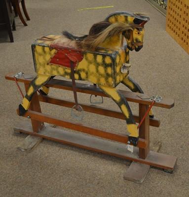 Lot 50A - Vintage rocking horse