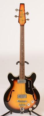 Lot 320 - Baldwin 704 semi-acoustic Bass guitar