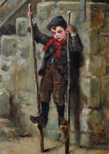 Lot 91 - Ralph Hedley, RBA, (1848-1913) John Irwin...