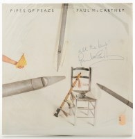 Lot 490-Paul McCartney: a signed copy of 'Pipes Of...