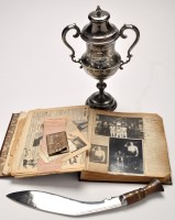 Lot 540-The Swords, Cup and Record Book of the...